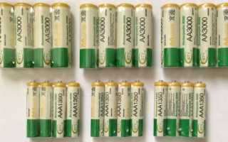 Восстановление Ni─MH аккумуляторов