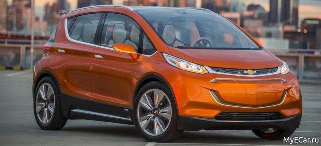 Chevrolet Bolt EV: обновление электрического хетчбэка