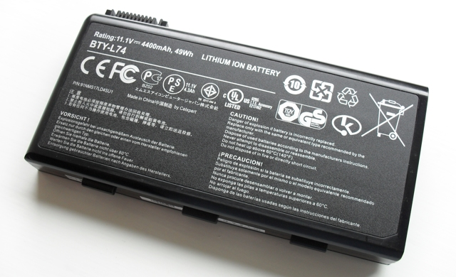 Типы литиевых аккумуляторов