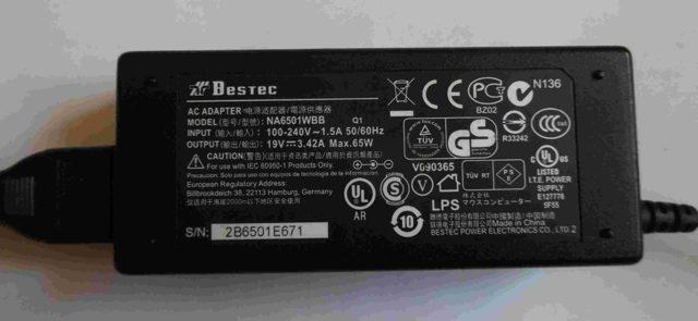 Не работает батарея на ноутбуке