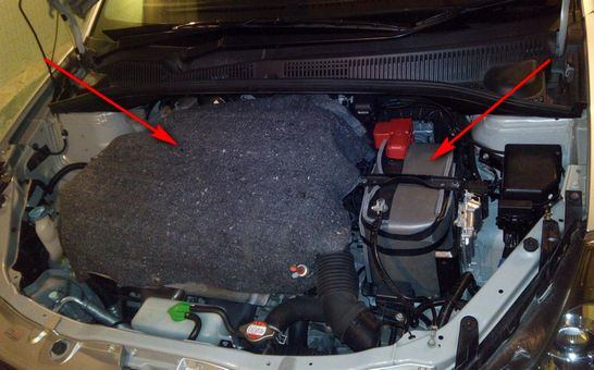 Утепление аккумулятора автомобиля своими руками