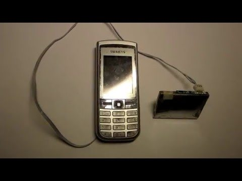 Как включить смартфон без аккумулятора
