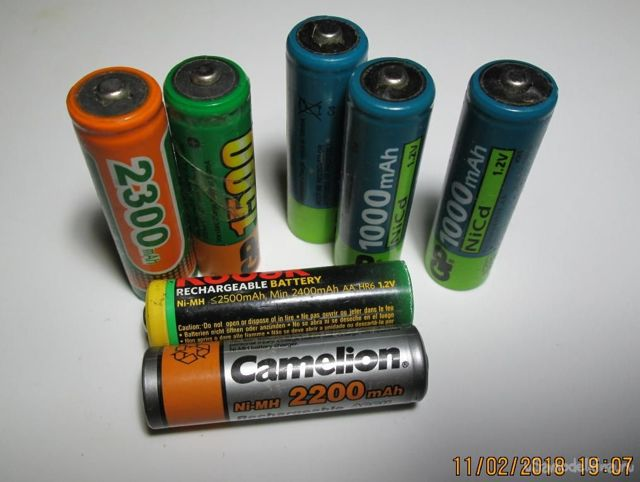 Никель─металлгидридные аккумуляторные батареи