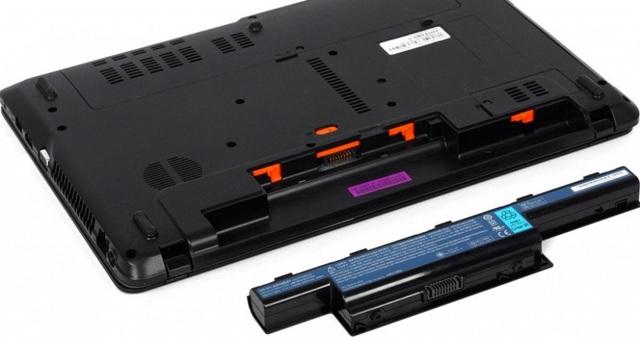 Как зарядить батарею ноутбука?