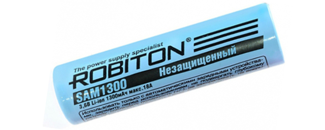 Литий─ионный аккумулятор 18650