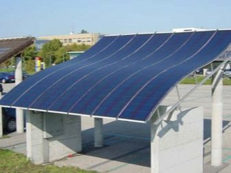 Гибкие солнечные панели