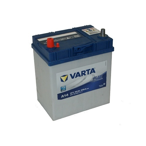 Автомобильные аккумуляторы Varta