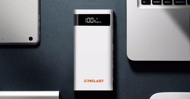 Power bank 20000 mAh на солнечных батареях
