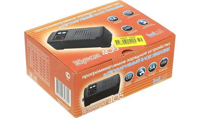Зарядное устройство для автомобильного аккумулятора Кулон
