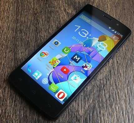Смартфон с 2 симками и мощным аккумулятором