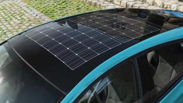 Солнечная батарея для зарядки автомобильного аккумулятора