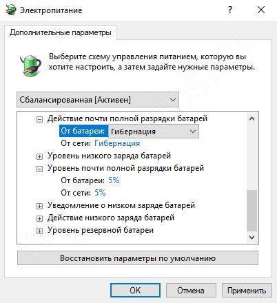 Программа для калибровки батареи ноутбука