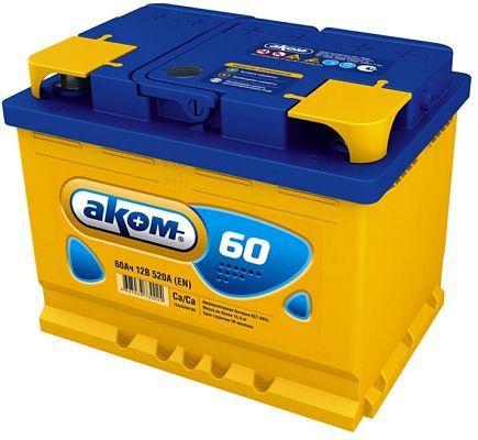Автомобильный аккумулятор Аком