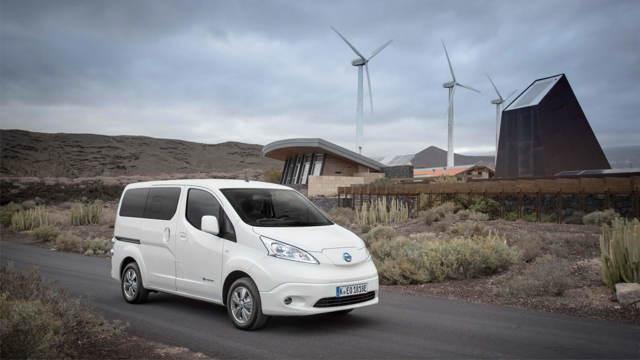 Nissan e-NV200 — фургон с нулевыми выбросами