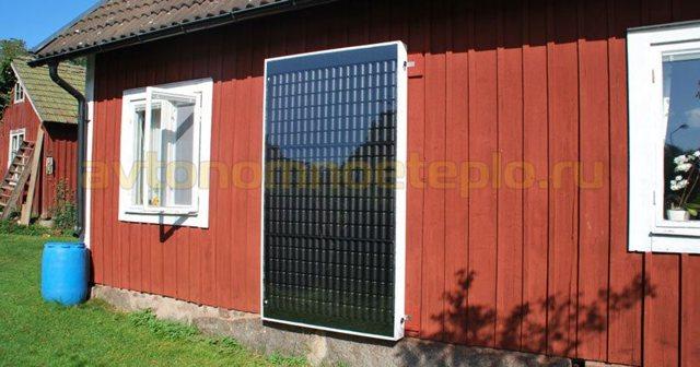 Воздушный солнечный коллектор