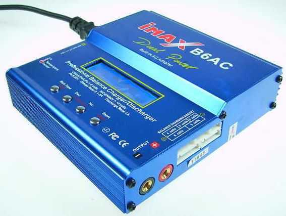 iMAX B6: зарядка автомобильного аккумулятора и не только