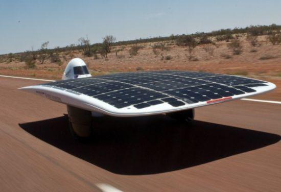 Солнечная энергия в автомобилестроении