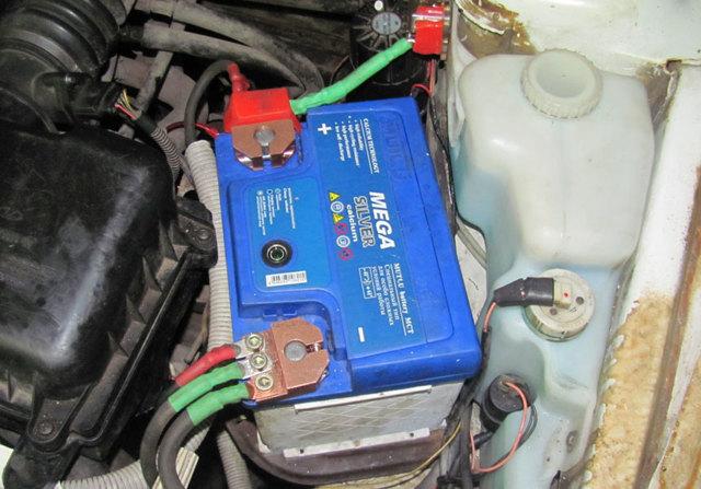 Второй аккумулятор в машину