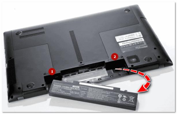 Как заменить батарею в ноутбуке